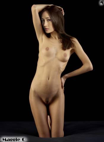Fake nude photos of maggie q porn full hd photos