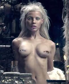 Yolandi die naked antwoord Yolandi Visser